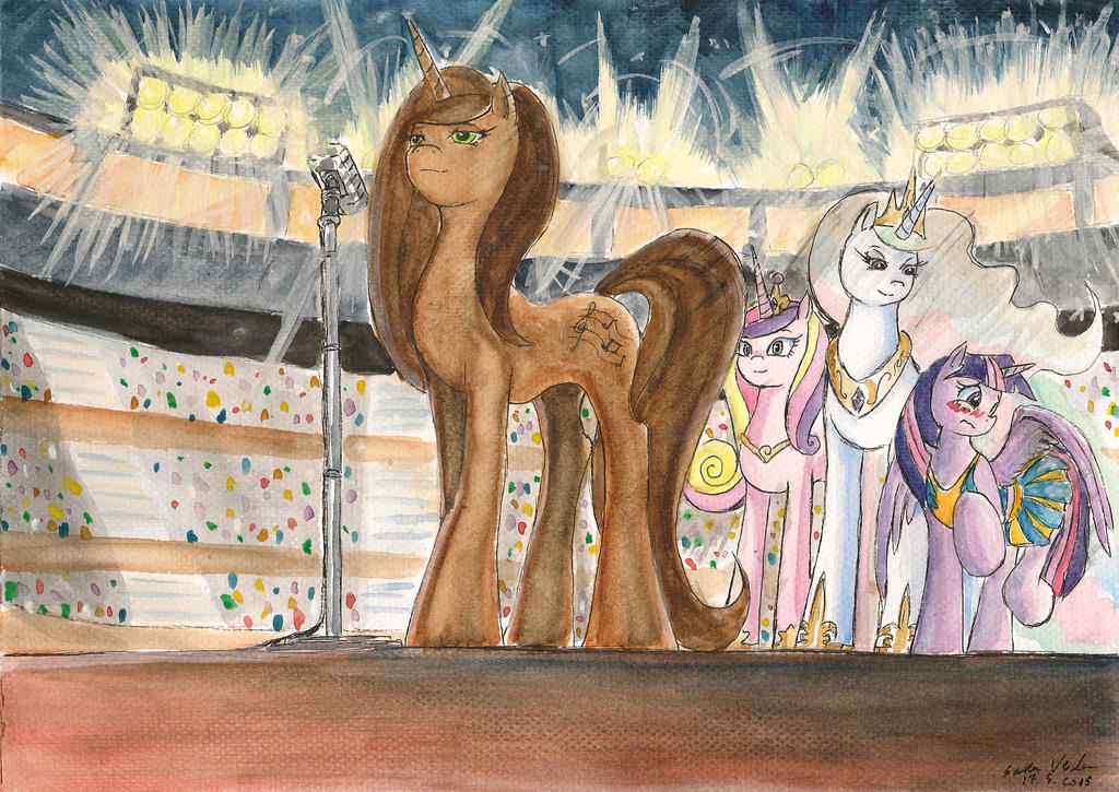 Brown Coated Mare by SoulEaterSaku90