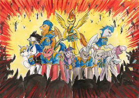 Protect the Princess by SoulEaterSaku90