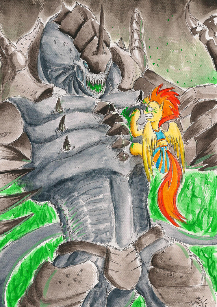 david and goliath reversed by souleatersaku90 on deviantart