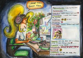Coco's Valentine by SoulEaterSaku90