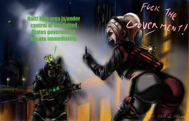 Fallout: Gotham City by SoulEaterSaku90