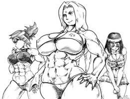 Naruto Beach Girls