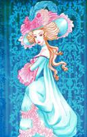 Blue Dress by IslaAntonello