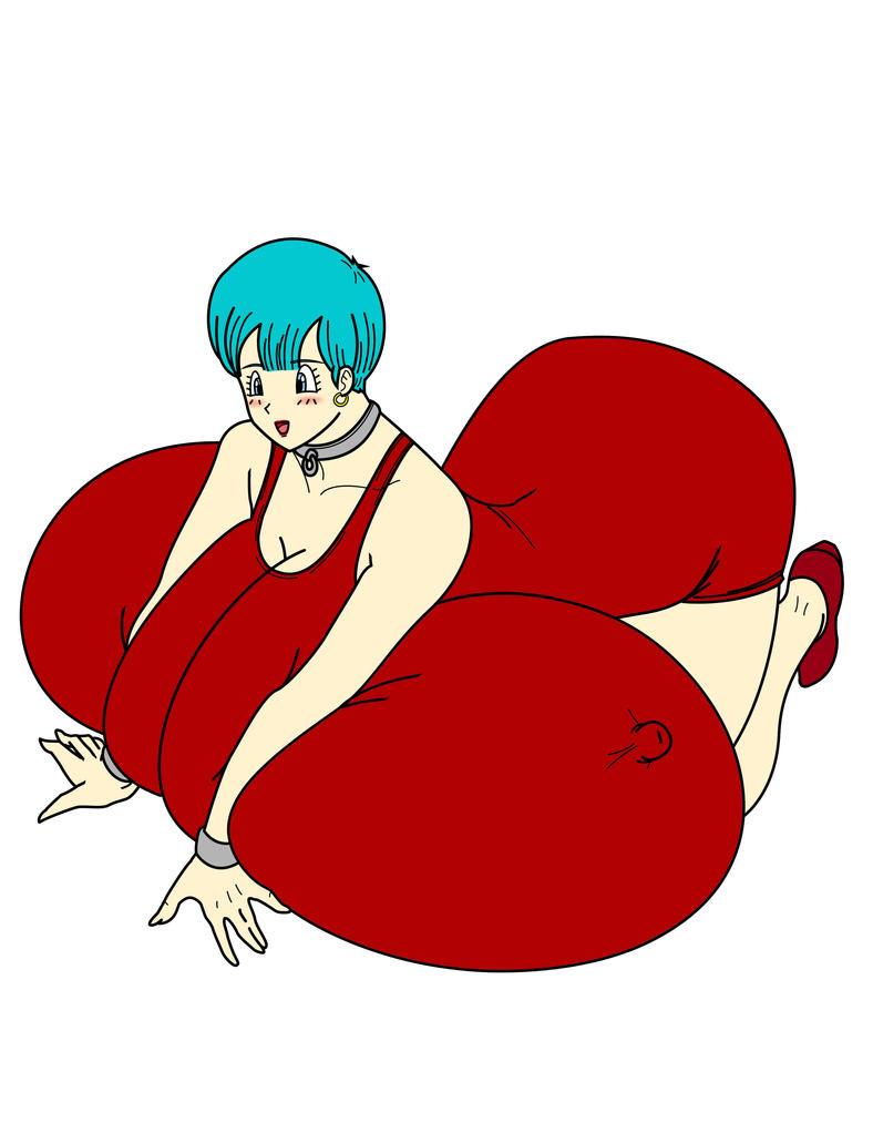 Dragon ball bulma breast