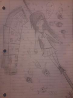 Random Doodle Of Eclair by RawrOtakuKid