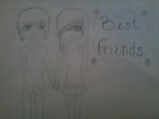 best friends by RawrOtakuKid