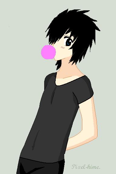 Hiroshi's bubble XD by RawrOtakuKid