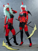 Scanty and Kneesocks 1 by Lessnaya