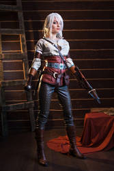 Ciri cosplay 5 by Lessnaya