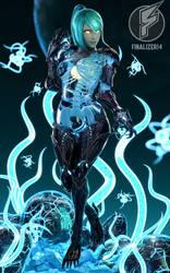 Zero Suit Dark Samus