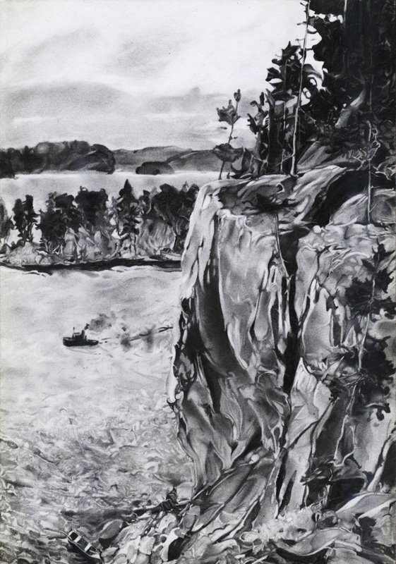 Karjala morning terrain by StenEV