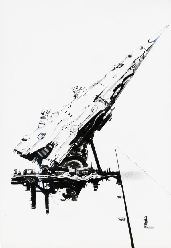 A spaceship by StenEV
