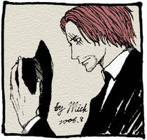OP: Red-Haired Shanks by mick347