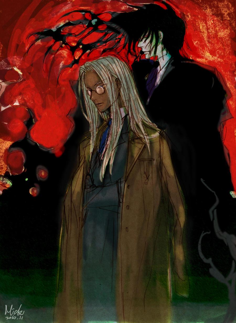 Hellsing - Black Fire by mick347