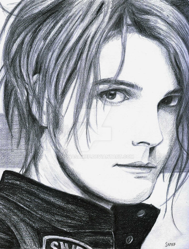 Gerard Way by aionasamef