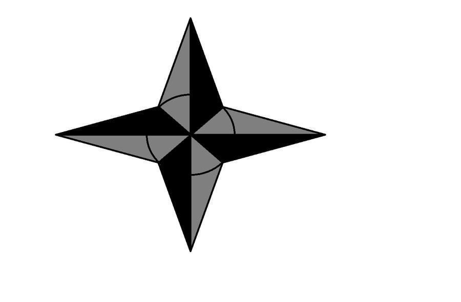 ninja star by legoshane on DeviantArt