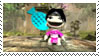 LBP Ninja Girl Stamp by WhiteMagicPriestess