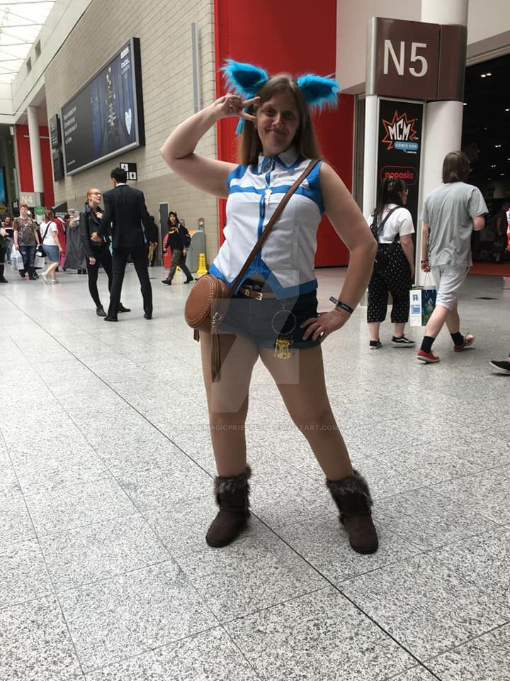 MCM Comic Con 2018 - Fairy Tail Lucy by WhiteMagicPriestess
