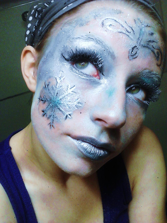 Ice Queen Makeup Ice q...