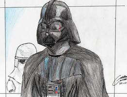 Darth Vader by CristianGarro