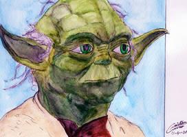 Yoda-Star Wars by CristianGarro