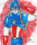 Captain America by CristianGarro