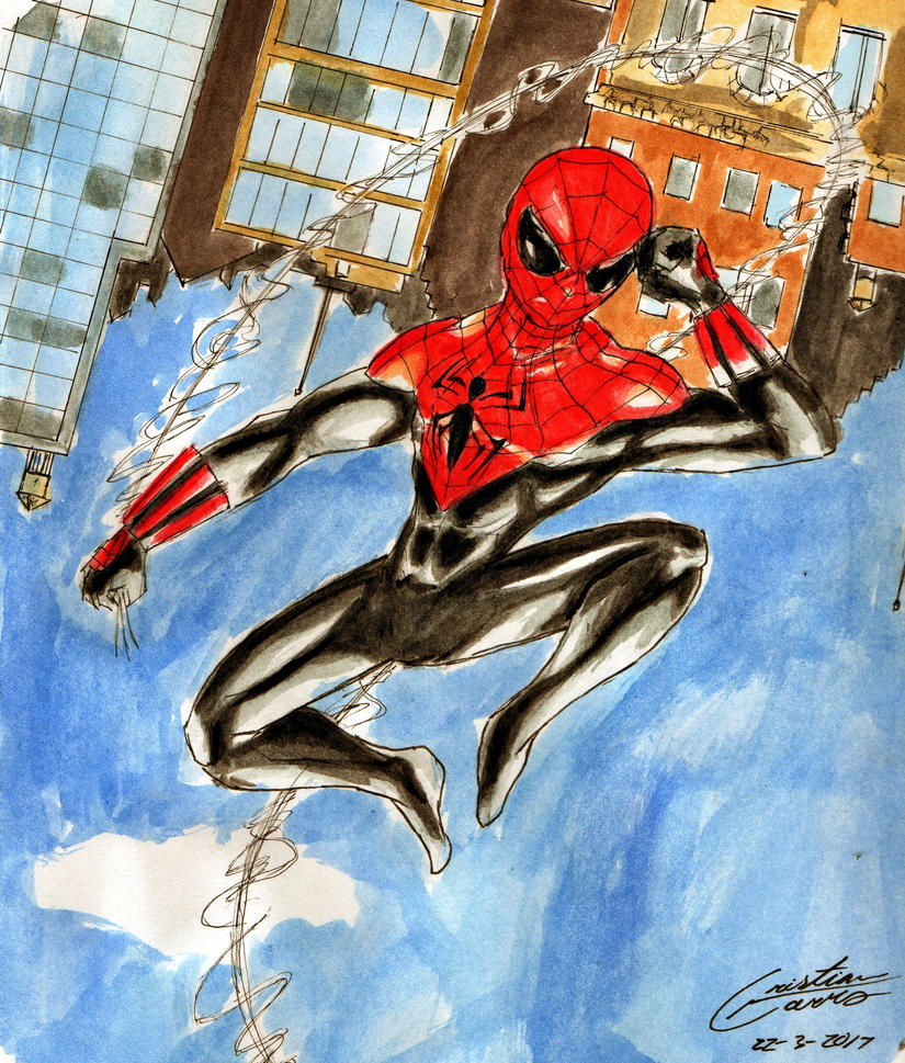 Alex ross spiderman figure