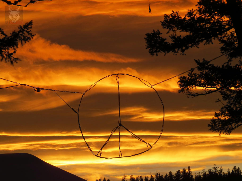 Peaceful Sunset by wolfwings1