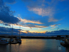Another Sky Over Boats by wolfwings1