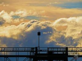 Bridge Before Clouds by wolfwings1