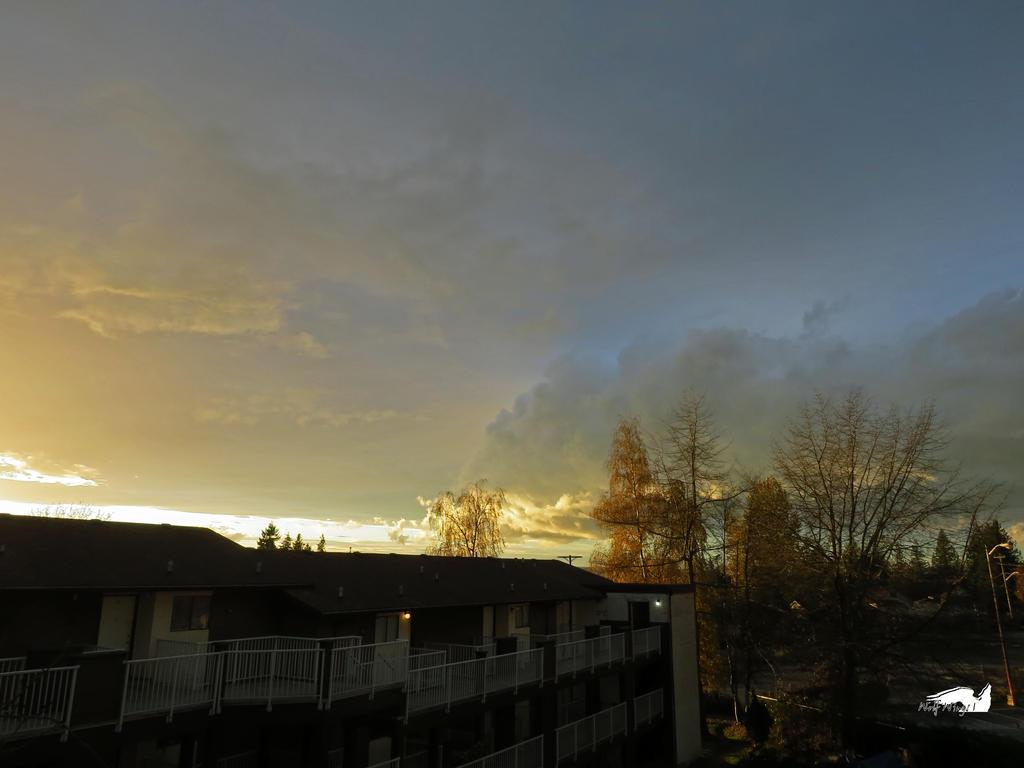 Glowing Blue Clouds by wolfwings1