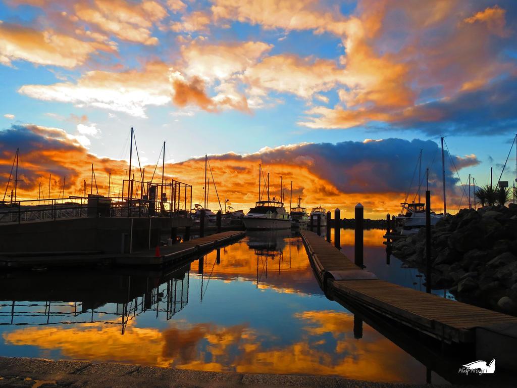 Golden Boat Ramp by wolfwings1