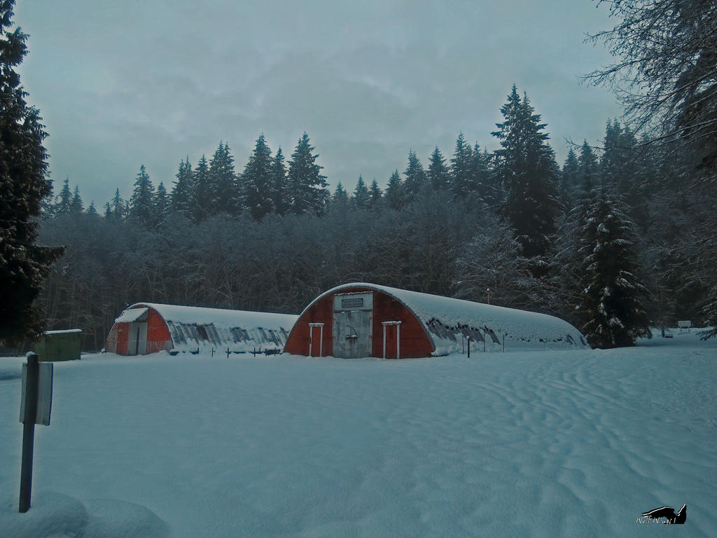 Snow Storage Bunkers by wolfwings1