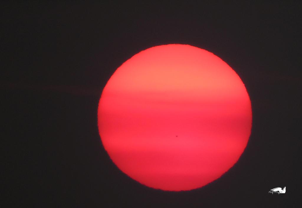 Jupiter Sunspot by wolfwings1