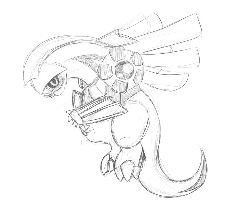 how to draw palkia pokemon