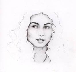 Morena Baccarin - WIP by Damki