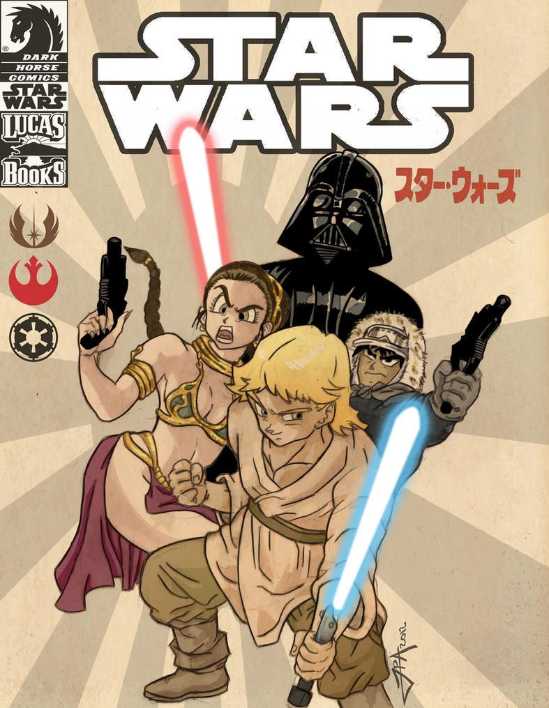 Star Wars - Akira Toriyama style by ludy83