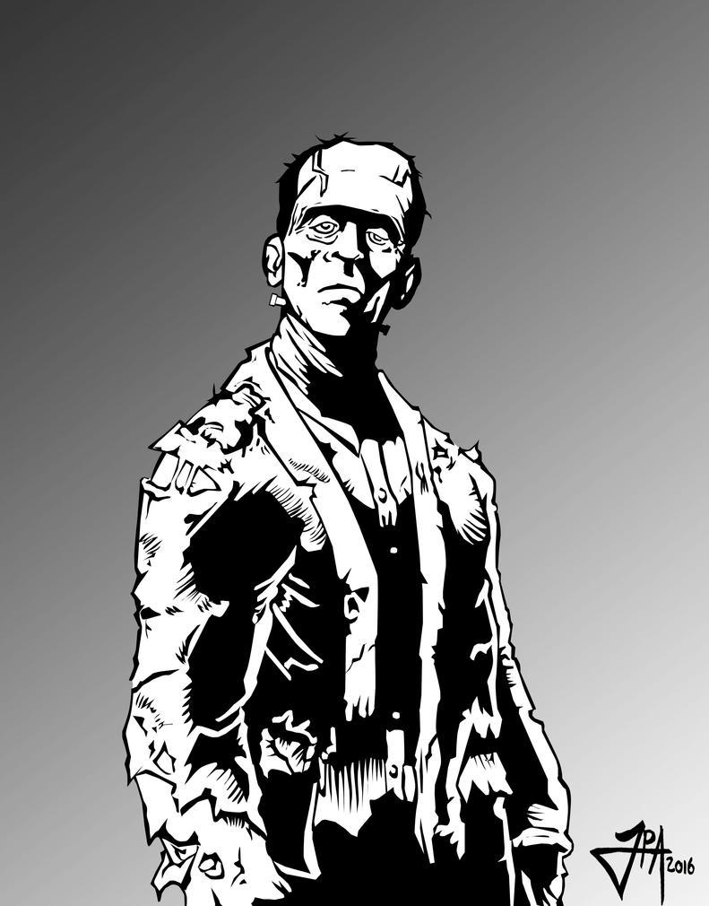 Frankenstein's monster by ludy83