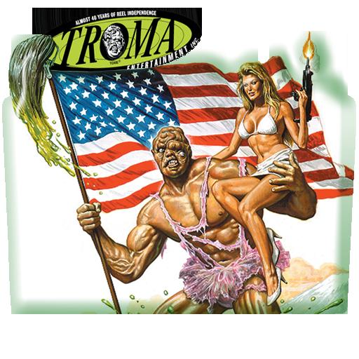 troma movie foldre icon by ludy83