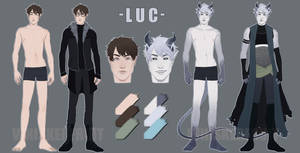 Luc: Reference Sheet by whiskerfruit