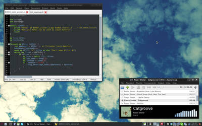 [Debian] [Xfce] Summer, work and music