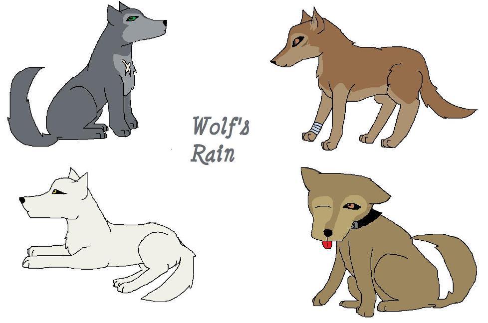 Wolfs Rain by Wolf--Prime