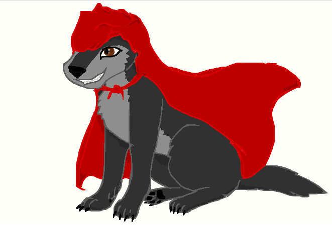 Serenity As Little Red by Wolf--Prime