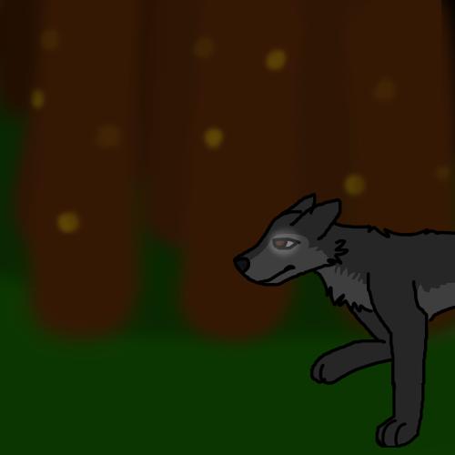 Walking in the dark by Wolf--Prime