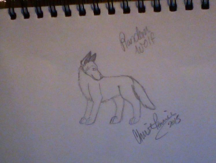 random wolf by Wolf--Prime