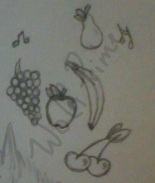 Fruit Doodles by Wolf--Prime