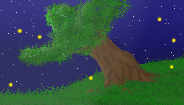 Lonely tree by Wolf--Prime