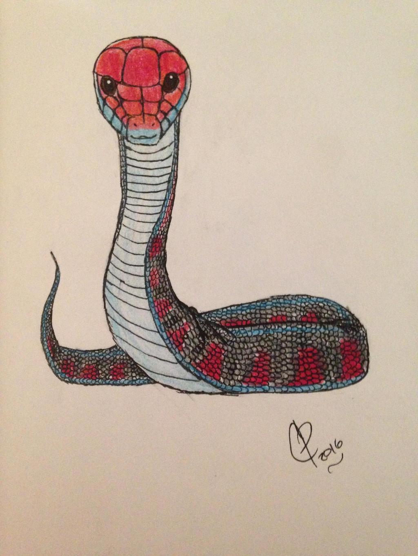 California Red sided Garter Snake by Wolf--Prime