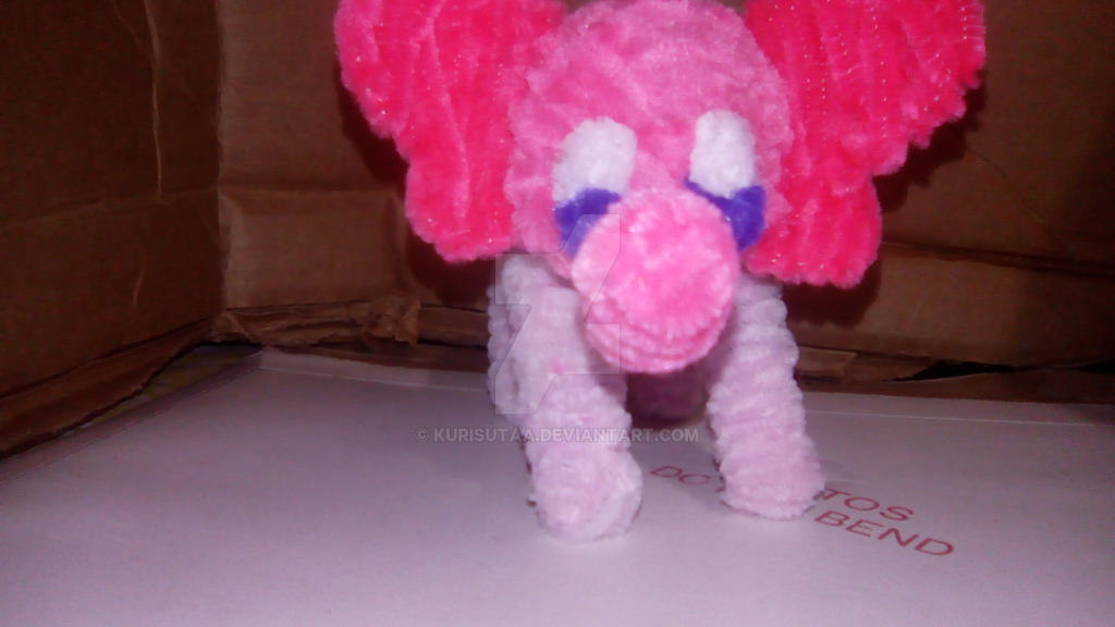Pink Elephant by Wolf--Prime