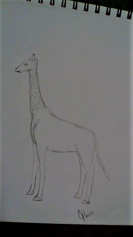 Giraffe (w.i.p) by Wolf--Prime
